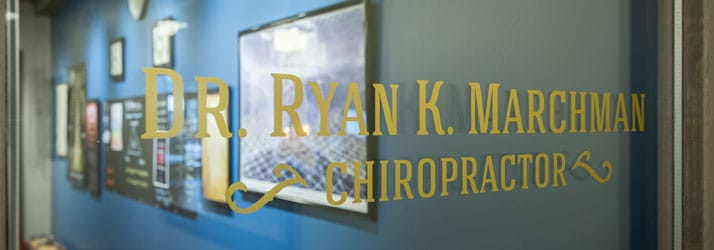 Chiropractic Niwot CO Front Door